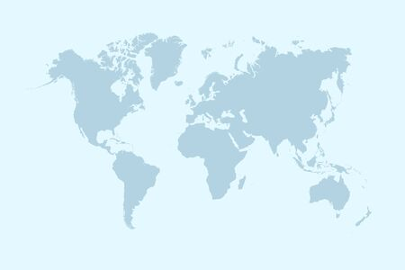World map color vector modern Standard-Bild - 148950047