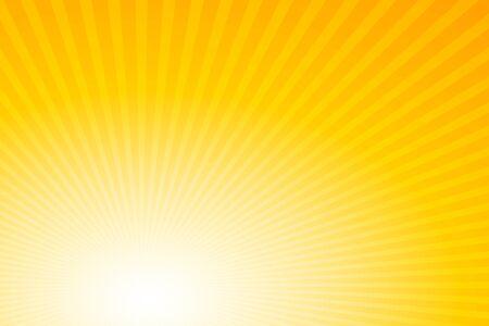 Sunbeams: Bright rays background stock illustration Illustration