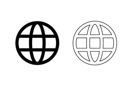 World icon - vector.