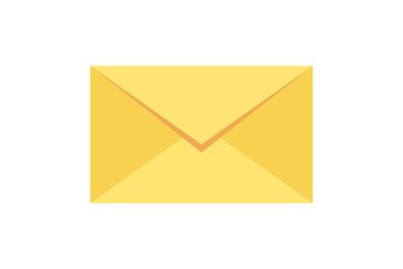 New incoming messages icon with notification. Envelope with incoming message. Illustration