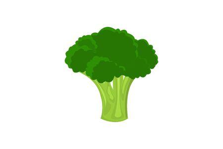 Fresh broccoli icon.