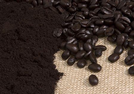 Coffee - beans n grinds
