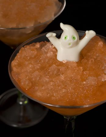 Ghostly Halloween Drink