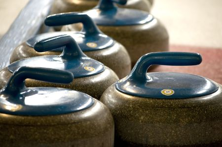 Rocks are ready, ready to curl? Stock Photo