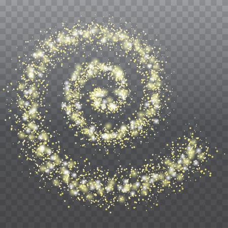 Abstract golden spiral.