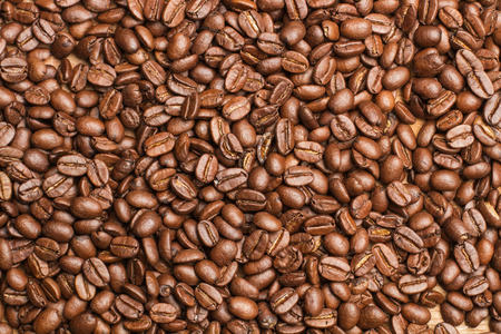 granos de cafe: Coffee grains
