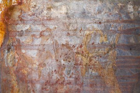 A vintage metal board texture