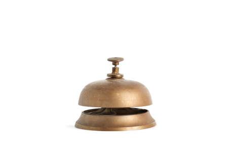 A reception bell on a white background Standard-Bild