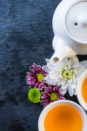 antioxidant: Antioxidant therapy fresh tea background