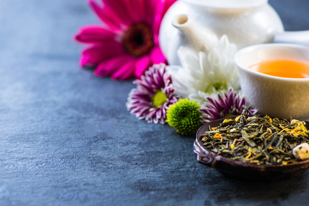 aromatic: Aromatic tea, food broder background