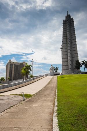 jose: Jose Marti monument in Revolution Square in Havana, Cuba