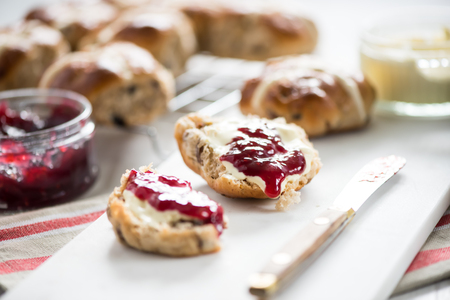 Traditional english scones, cream teas