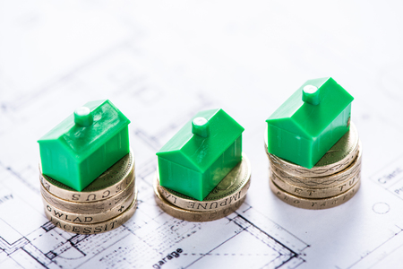 property development: investing money in new property and housing development