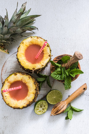 exotic drinks for summer days made from natural juice