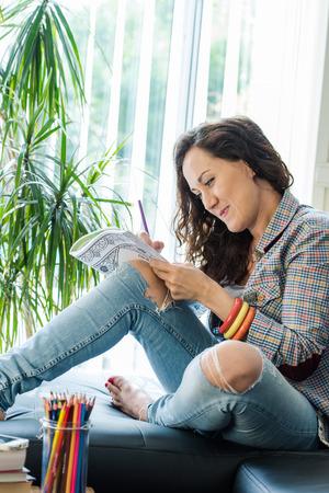autocuidado: ni�a aliviar el estr�s con la man�a creativa, libro para colorear posada sal�n
