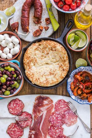 omlet: authentic spanish tapas in patata omlet