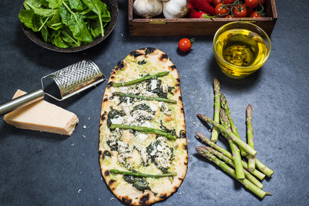 woodfired: healthy pizza with alternative ingredients for vegeterians