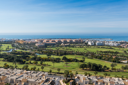 Residential area and golf club in Costa Tropical,Spain