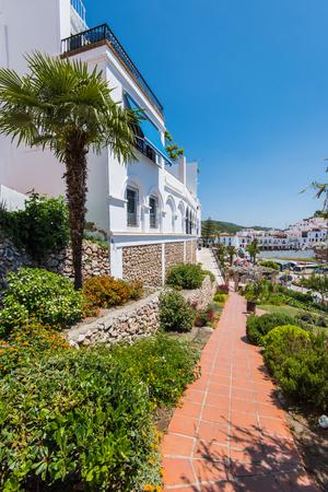 White houses in Frigiliana, Malaga province,Spain