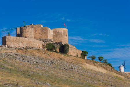 Don Quijote castle in Consuegra, Spain