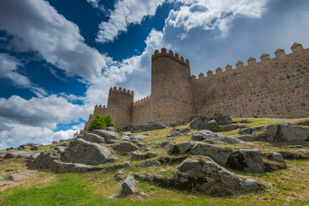 Legendary medieval town of Avila,Spain