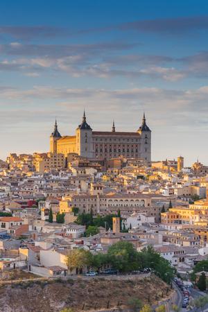 Alcazar in Toledo, close tele lens view