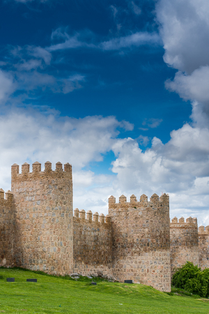 Defence towers of Avila,Spain