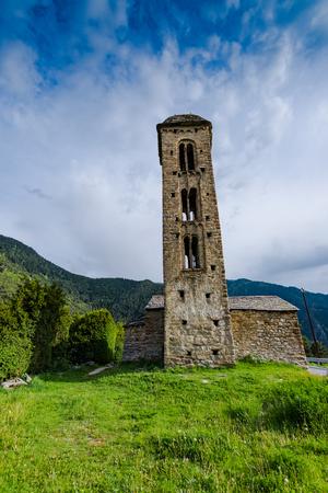 アンドラのサン ミゲル教会 Engolasters。