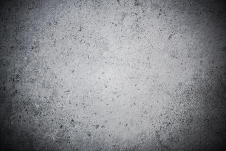 グレーは、コンクリートや石のスレート背景を風化しました。 写真素材
