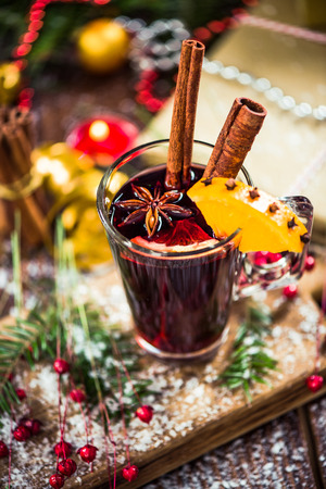 Recipe for mulled wine for cold winter days.