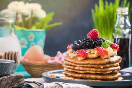 Celebrating Pancake Day or Shrove Tuesday with perfect pancakes