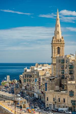 St. Pauls Anglican Cathedral in Valletta,Malta.