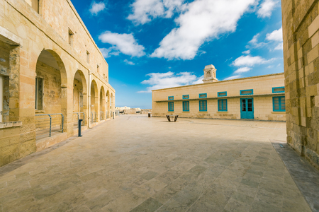 Building of Fort Saint Angelo, Birgu,Malta. Editorial