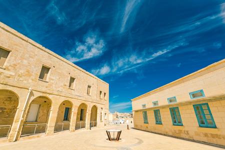 Saint Angelo Fort in Birgu, Malta.