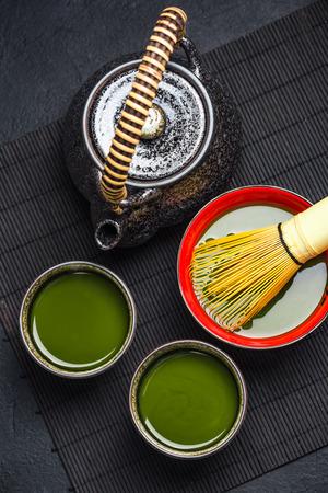 Oriental tea ceromony ceramic set.