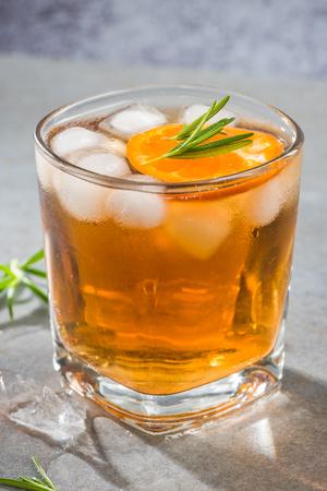 Ice cold tea for summer garden party.
