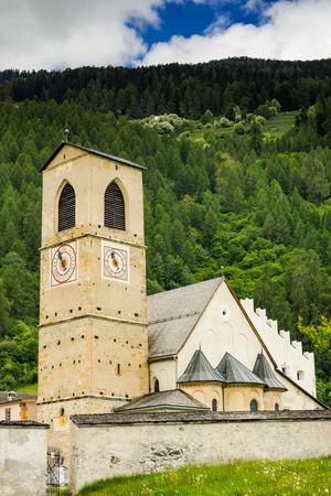 Convent of St. John in Mustair, Switzerland.