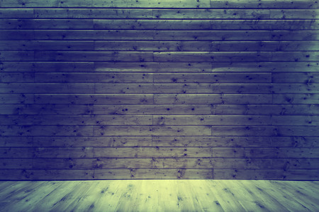 Wooden background with wooden floor, photographic backdrop.