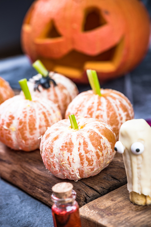 Creative food for Halloween party.