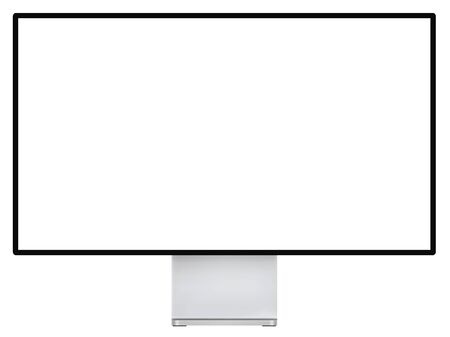 Computer screen. Realistic vector file. Isolated in white background. 向量圖像