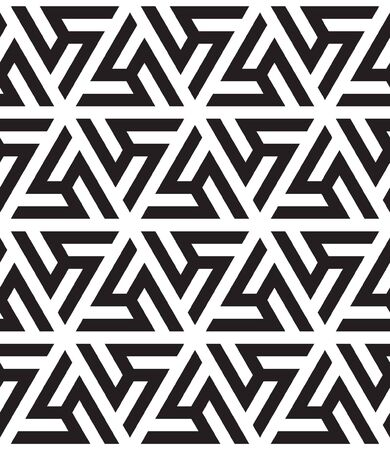 Abstract geometric pattern with complex lines. Illustration