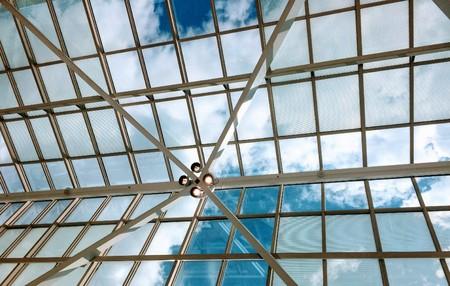 Architecture and sky Banco de Imagens