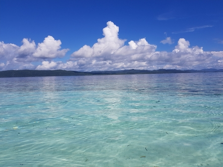 Clear beach in Raja Ampat