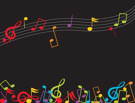 Music design theme. Vector illustration