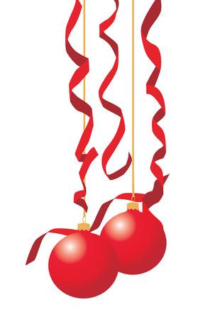 Christmas balls. Vector illustration available Illustration