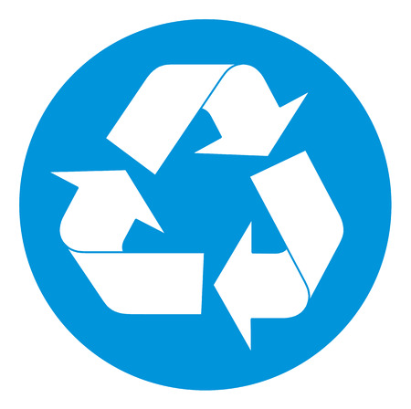 Recycling symbol. Vector illustration available Vector