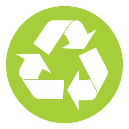 Recycling symbol. Vector illustration available