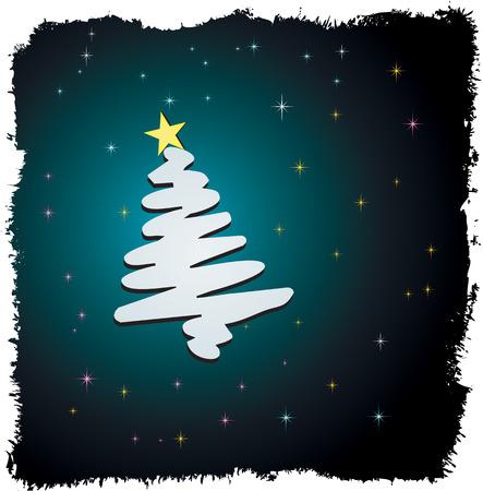 Christmas tree design. Stock Vector - 5843309