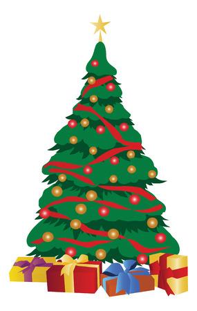 Christmas tree design. Stock Vector - 6008949