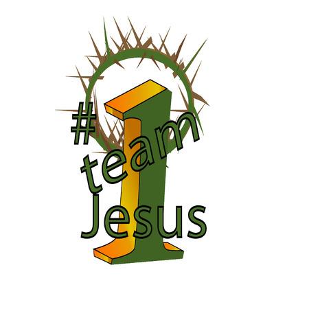 team Jesus Reklamní fotografie - 25699479